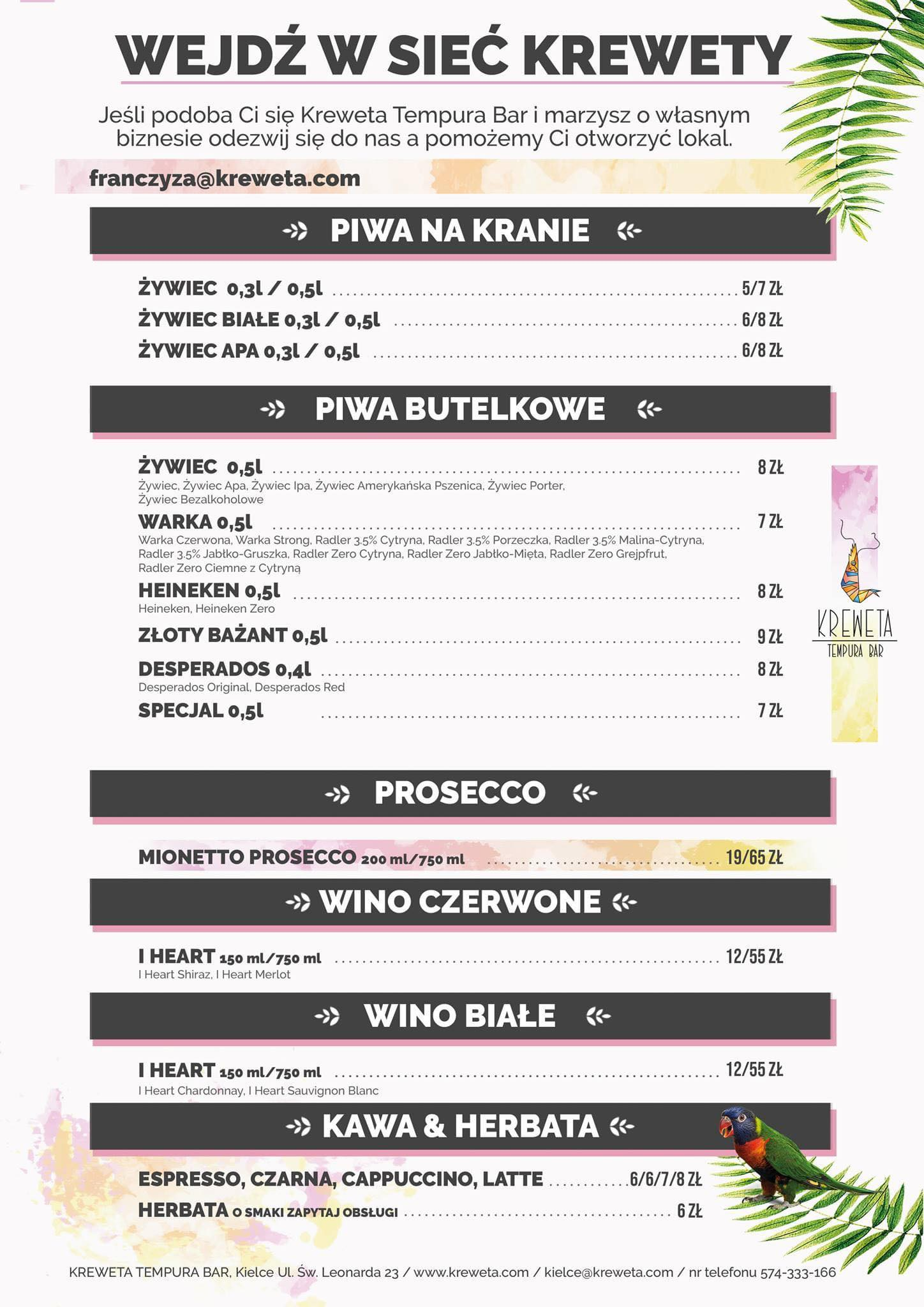 menu kreweta 2